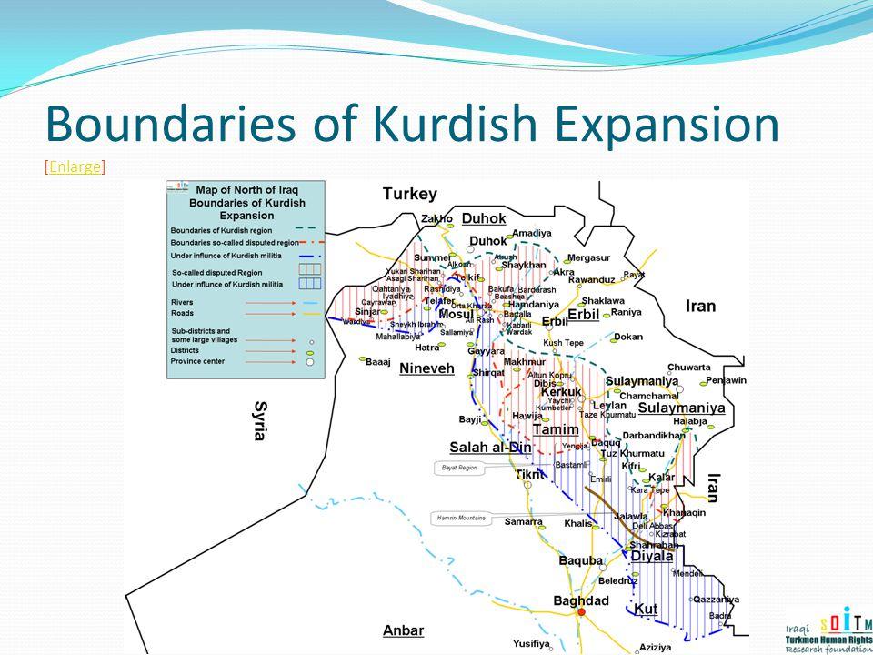 Boundaries of Kurdish Expansion [Enlarge]